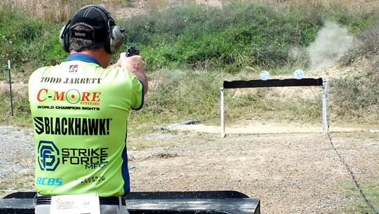 Todd Jarrett | Falling Plates at NRA World Shooting Championship